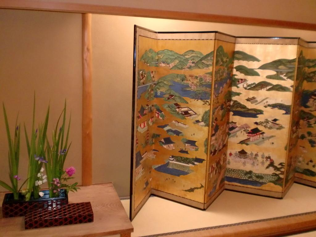 祇園丸山 屏風
