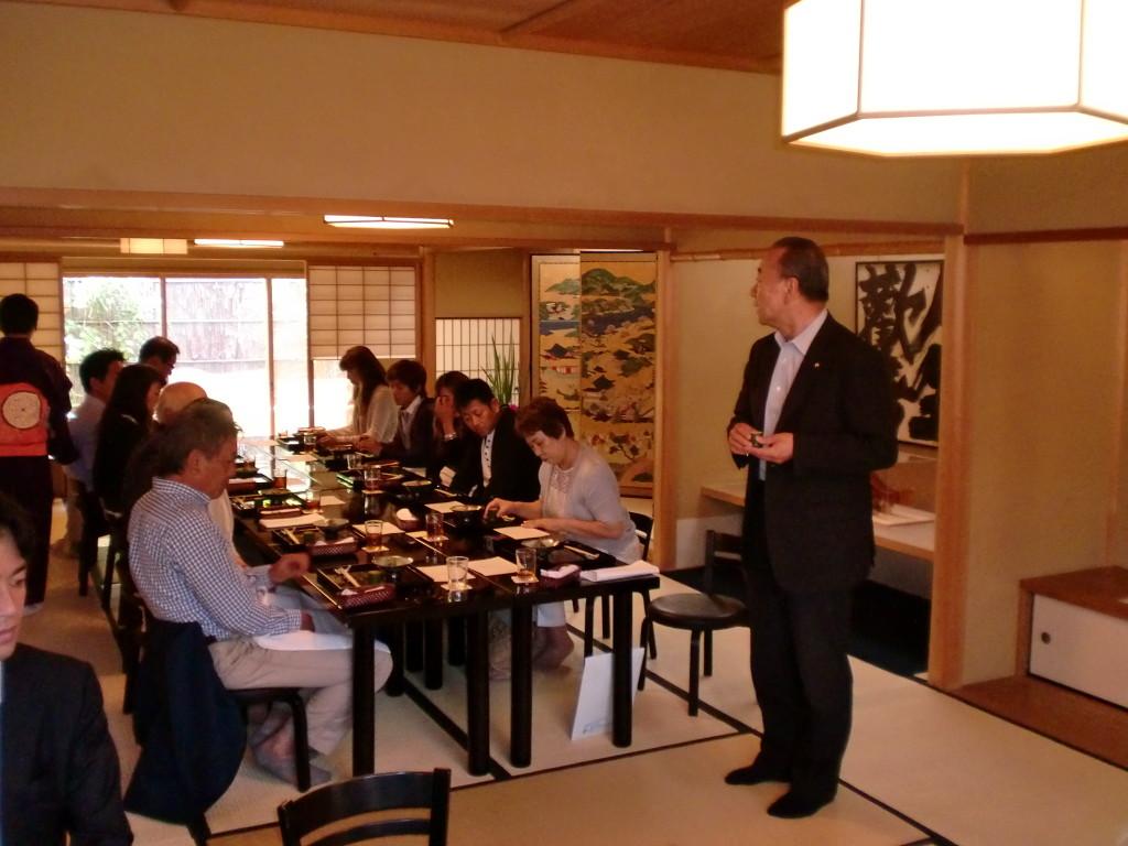 祇園丸山 食事会