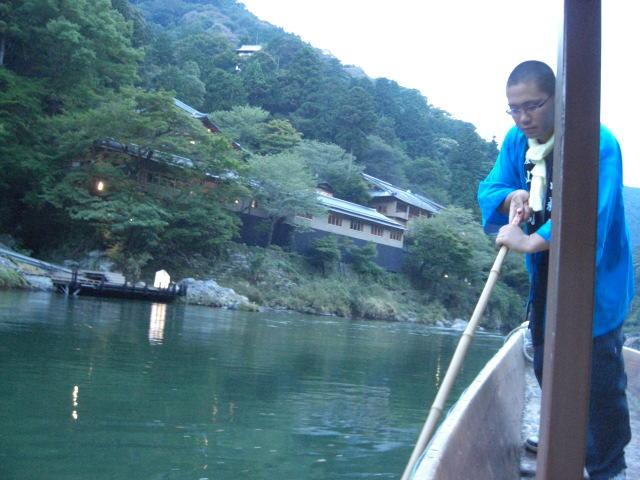 2010年 京都嵐山 鵜飼