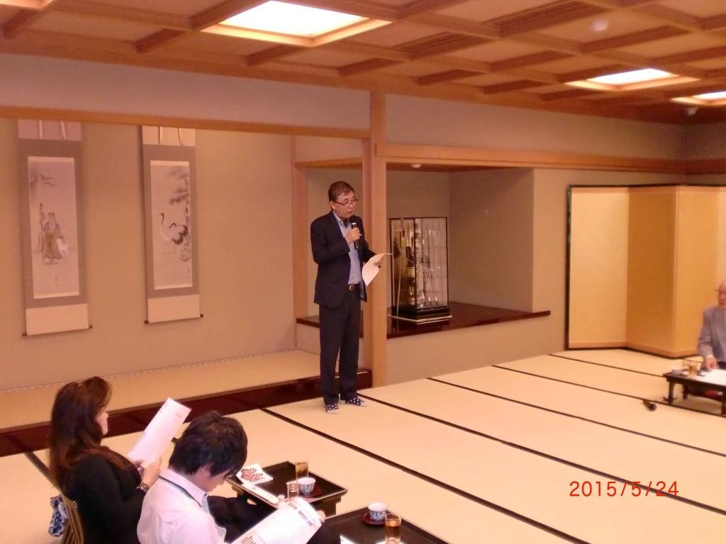 武田啓次氏の講演「男のオシャレ学」