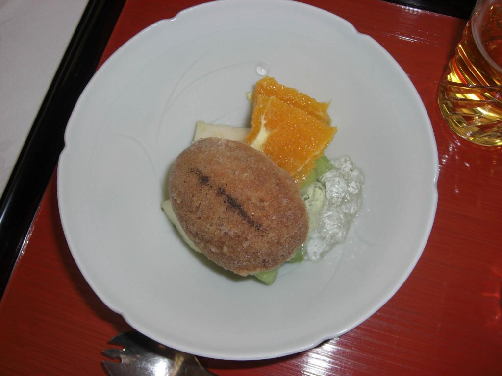京都美濃吉本店「竹茂楼」デザート