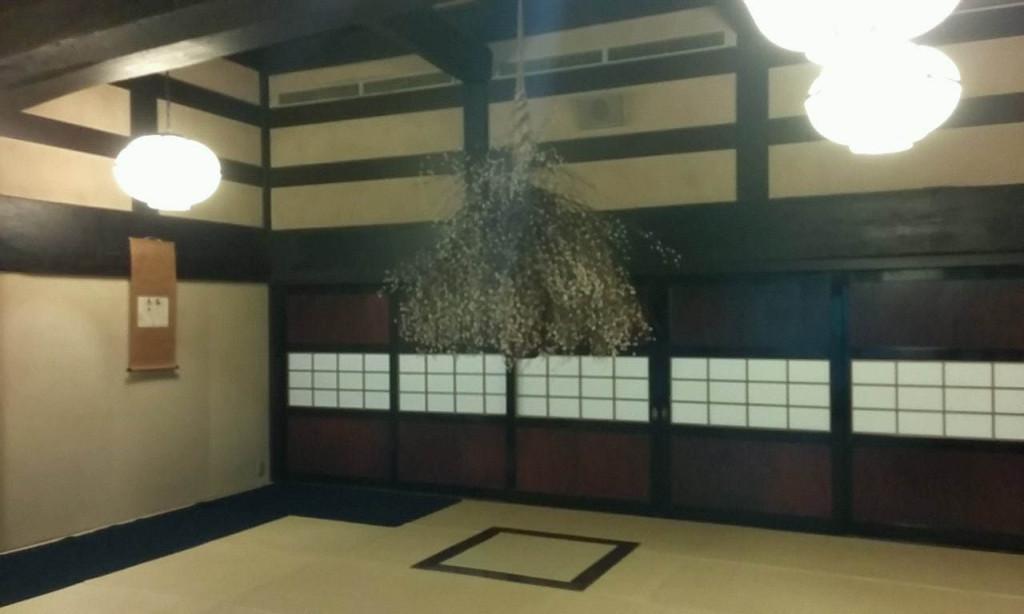 京都美濃吉本店「竹茂楼」ここで茶菓を頂きながら定時まで待ちます。